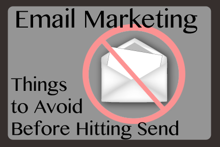 Spam is the e-mail marketers main enemy